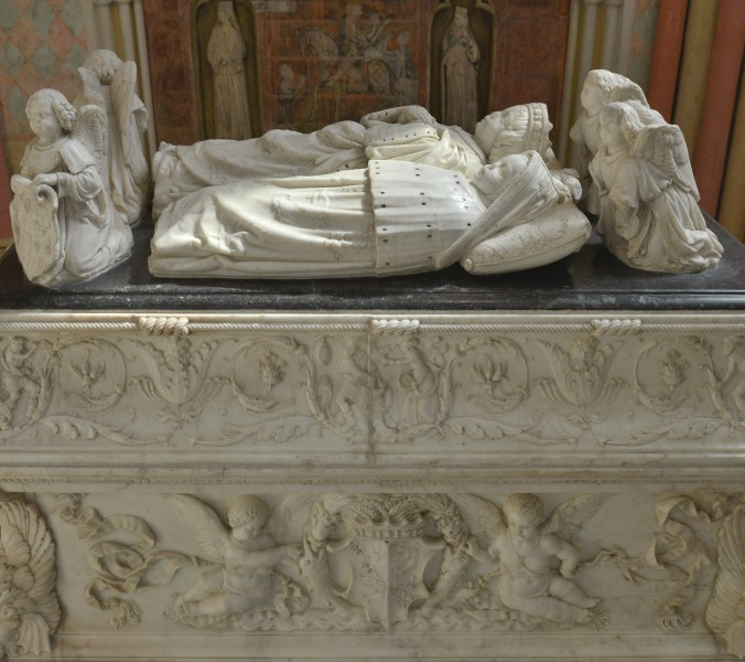 Tomb of the children of Charles VIII Tours