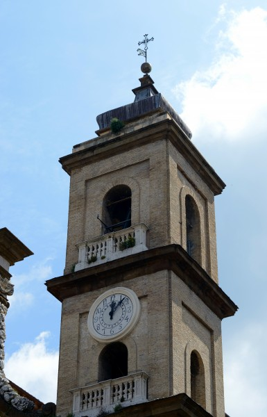 Tower bell of Church Saint Peter in Frascati