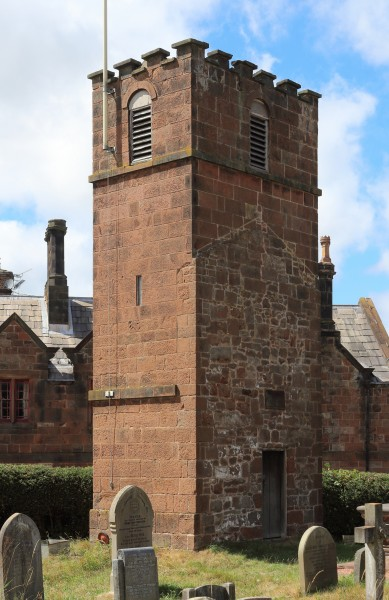 Tower of former church, St Bartholomew, Thurstaston 1