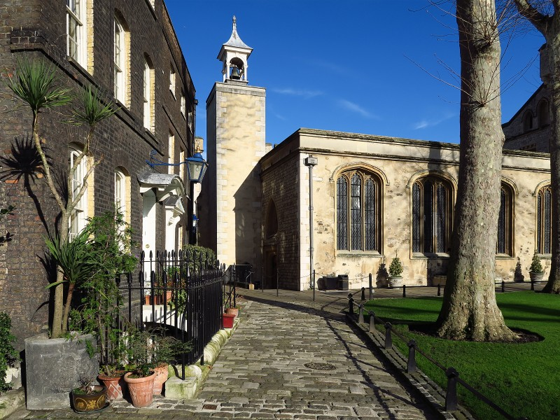 Tower of London, Chapel of St Peter ad Vincula