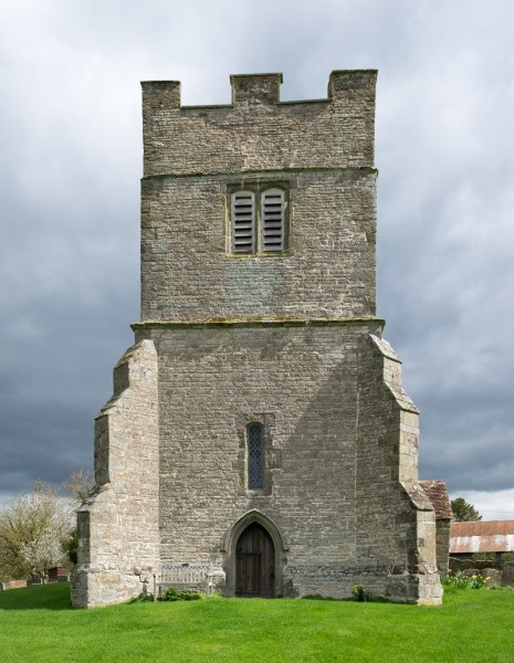 Tower of St. Giles Church, Chesterton