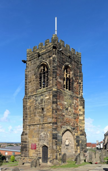 Tudor tower, St Hilary's church, Wallasey