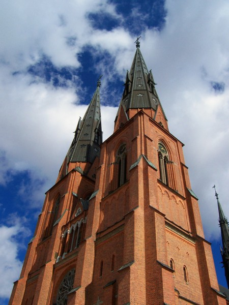Uppsala Cathedral two towers