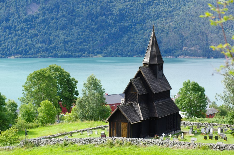 Urnes Stave Church from north