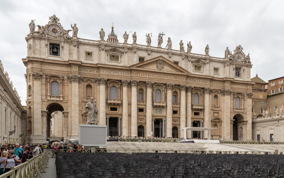 Vatican City (VA), Petersdom -- 2013 -- 4352