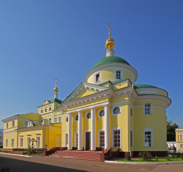 Vidnoe Monastery 01 - Cathedral