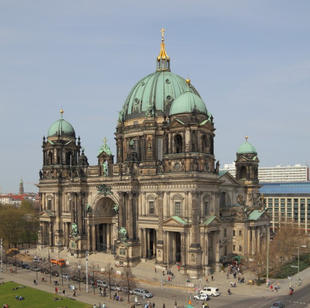 View from Humboldtbox - Berlin Cathedral