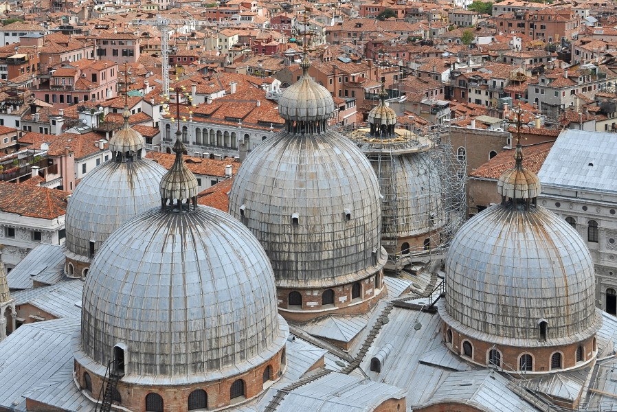 Views from the Campanile of St. Mark's Basilica 001