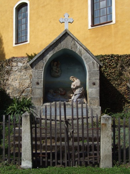 Vlčice (Wildschütz) - shrine