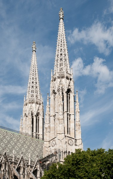 Votive Church towers - Vienna