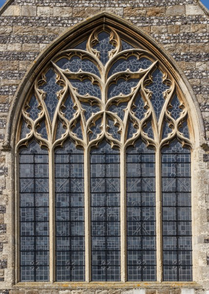 Window, Eastern Facade, St Helens Church, Cliffe, Kent, England, 2015-05-06-5145