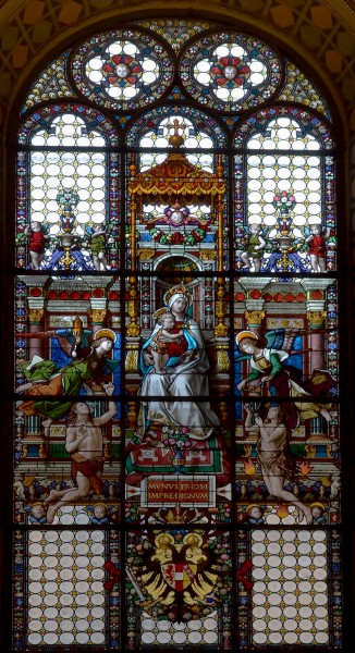 Window of Our Lady of the Soul (national church of German Catholics )