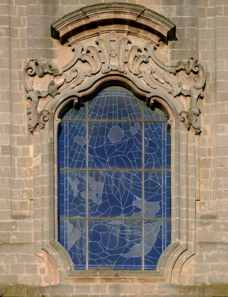 Window of the cathedral of Oria