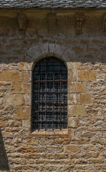 Window of the Chapel of the Penitents of Saint-Come-d'Olt