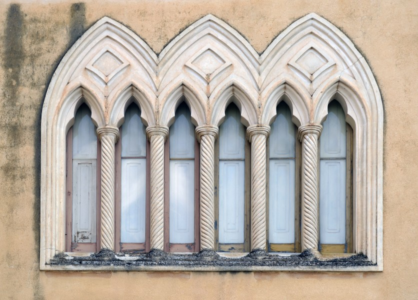 Windows of S. Antonio Church