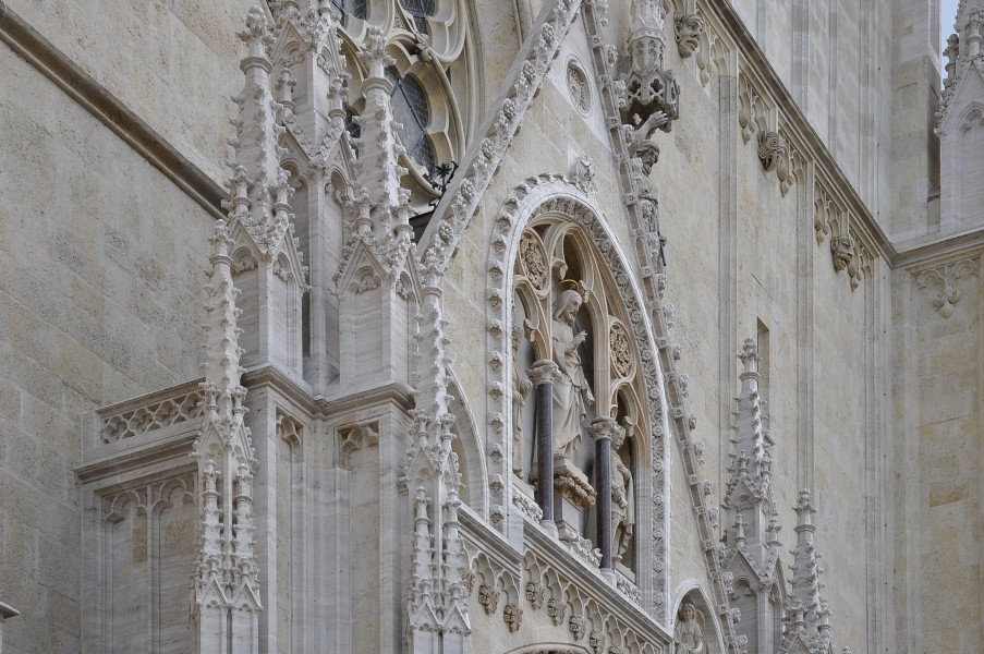 Zagreb cathedral face