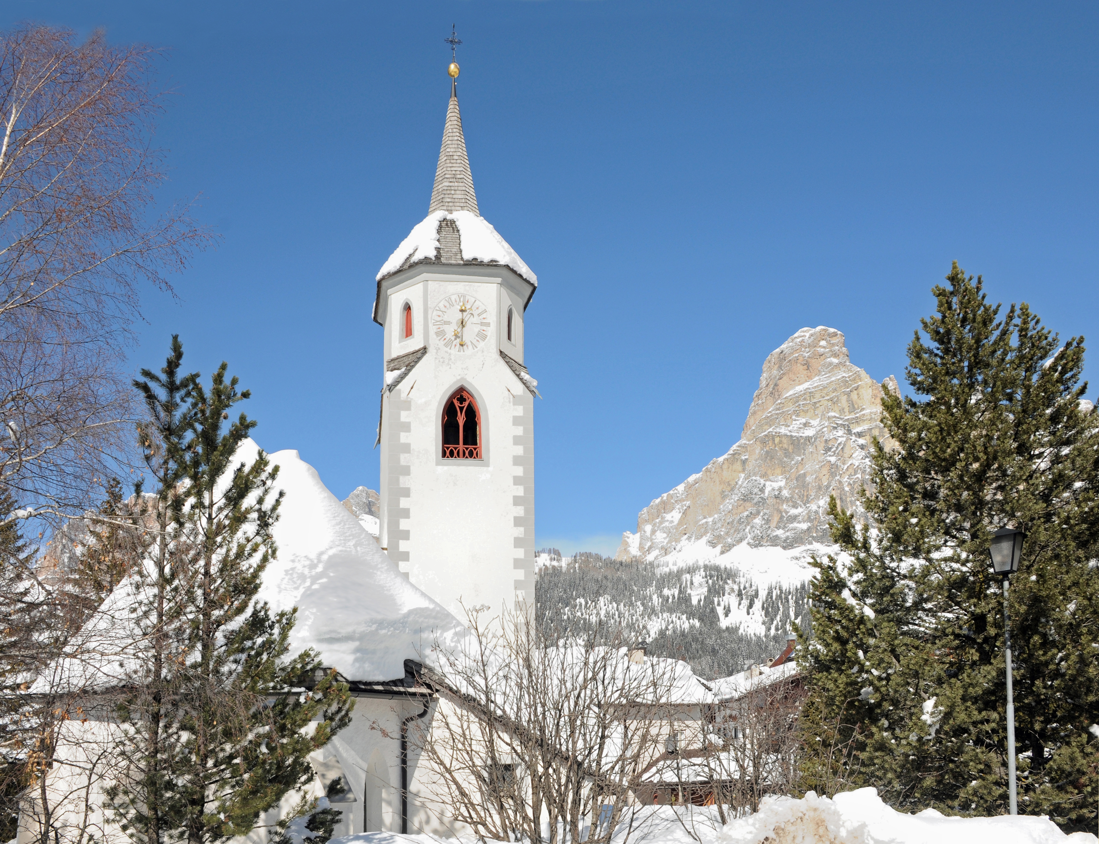 Saint Catherines Church Corvara