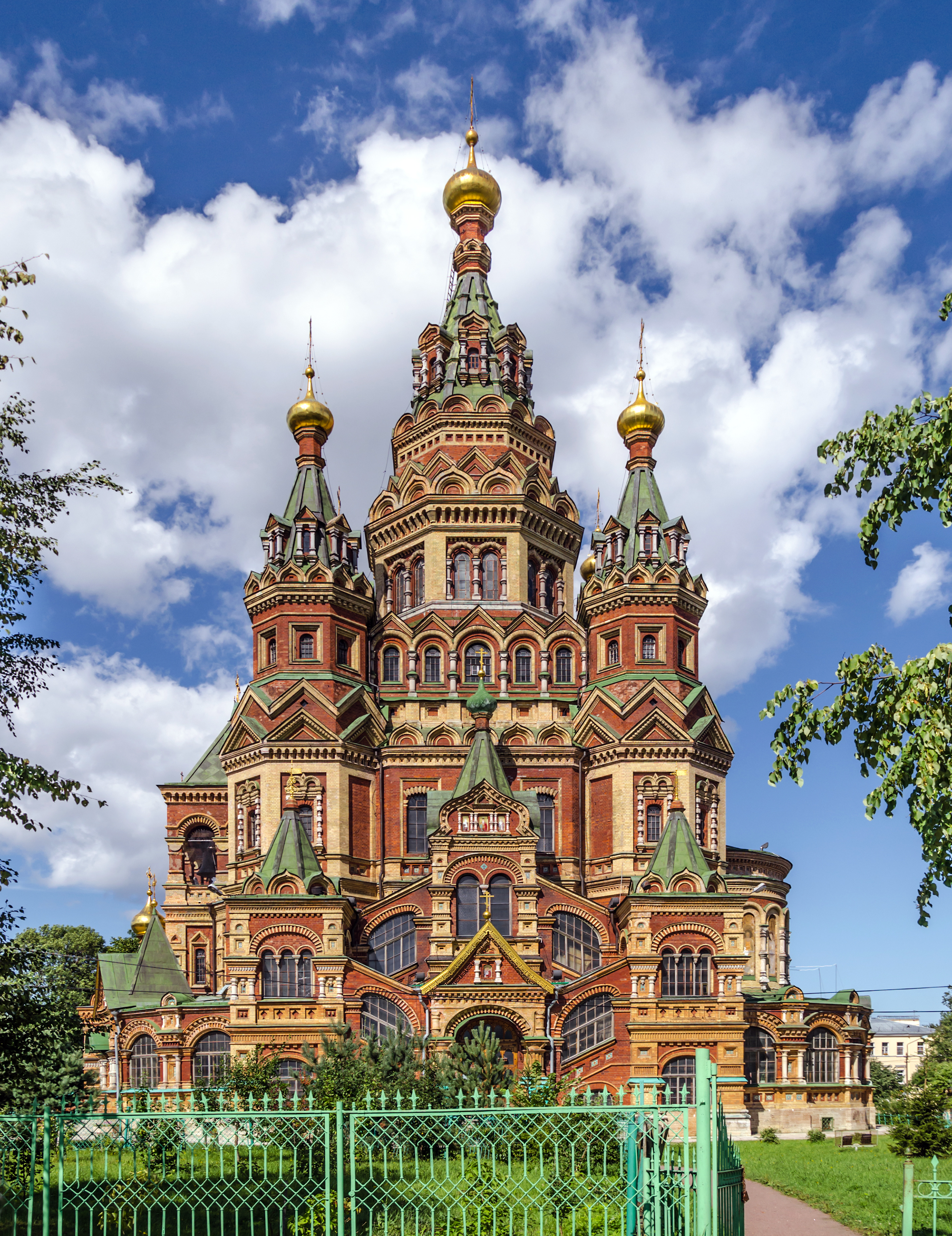 Saints Peter and Paul Cathedral in Peterhof 01