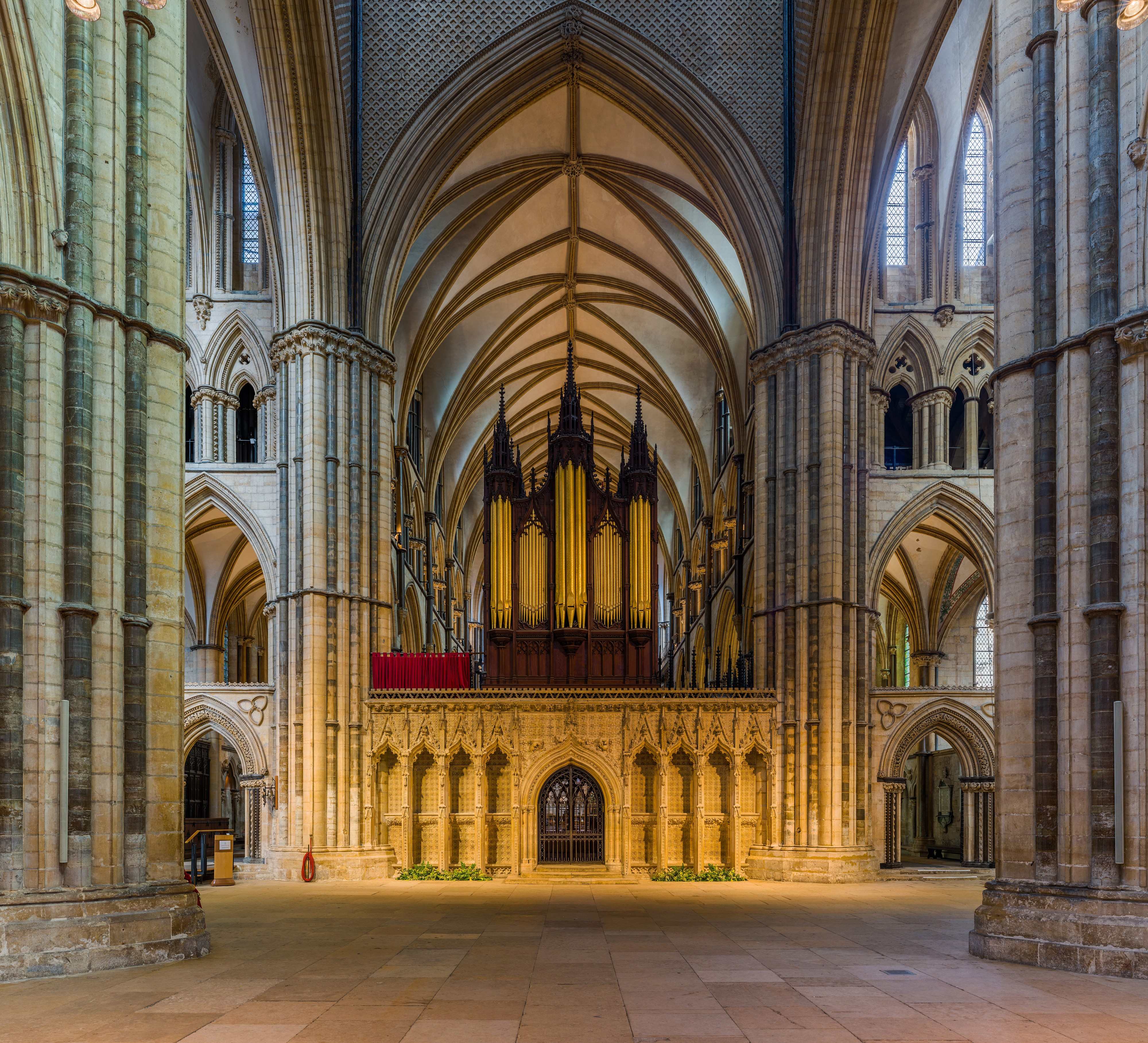 Lincoln Cathedral Rood Screen, Lincolnshire, UK - Diliff