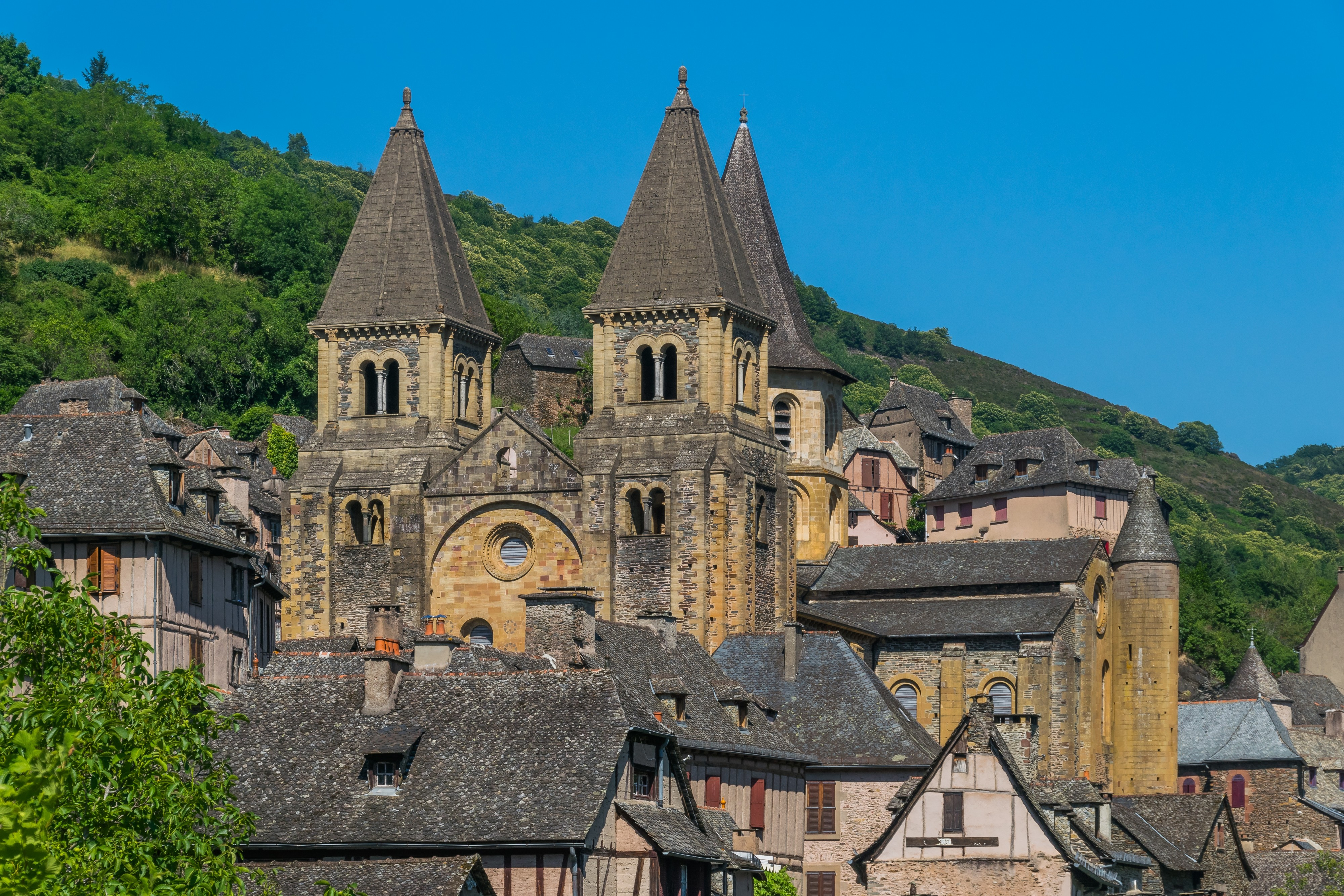 Saint Faith Abbey Church in Conques 14