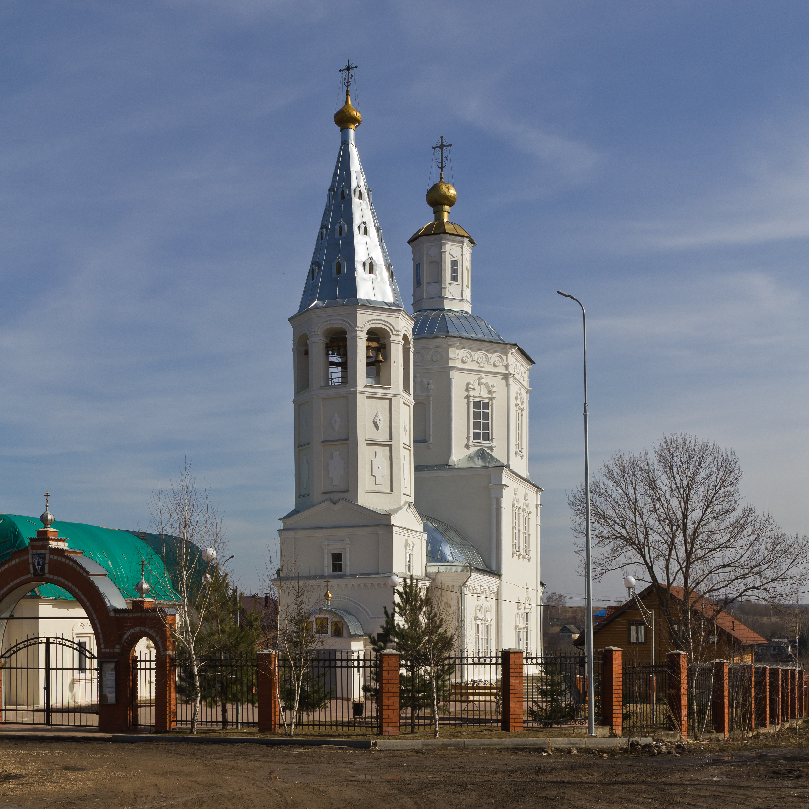 Venyov (Tula Oblast) 03-2014 img06 Epiphany Church