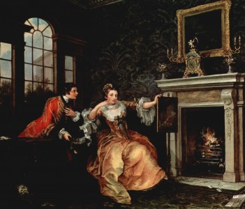 William Hogarth The Lady's Last Stake