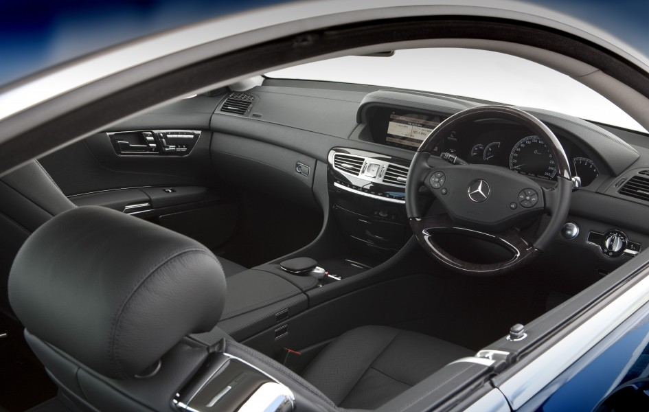 2010 Mercedes-Benz CL 500 (C216) coupe (2010-11-05)