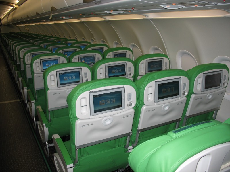Afriqiyah Airways - Economy Class - Airbus A320