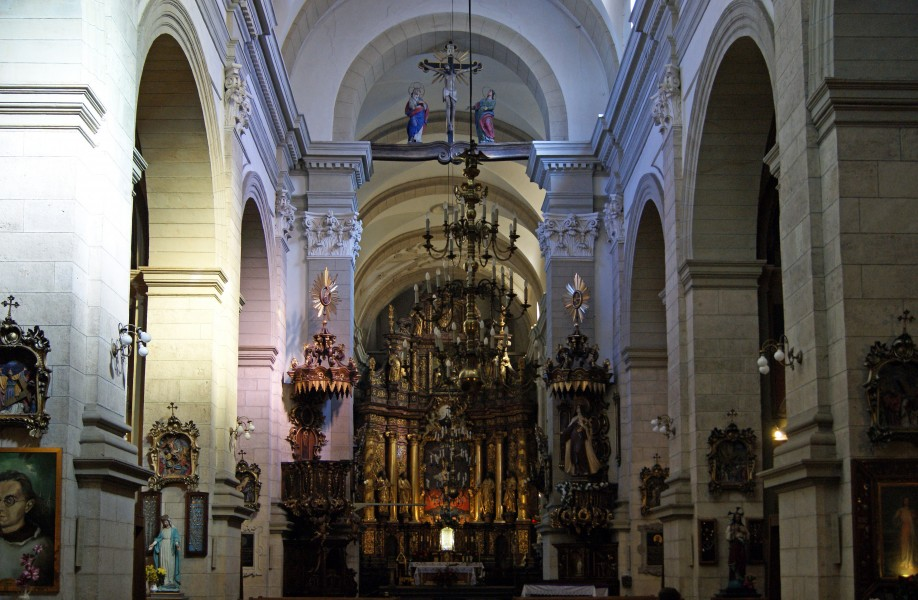 Church of the Visitation of the Blessed Virgin Mary (interior), 19 Karmelicka street, Krakow, Poland