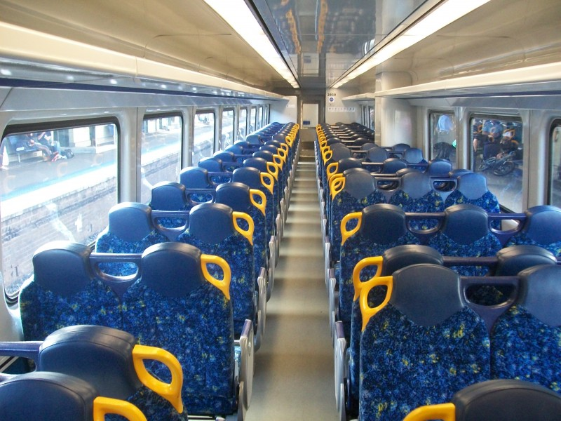 Cityrail endeavour seating