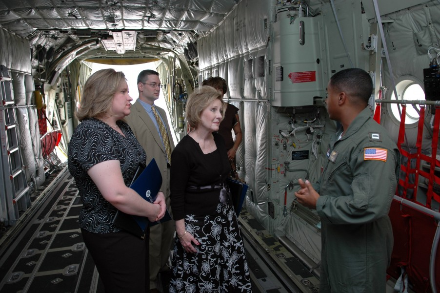 FEMA - 31546 - Congressional Staff on C130J aircraft