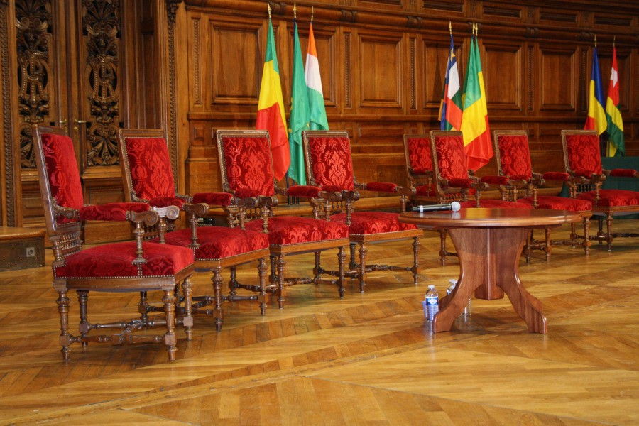 La Sorbonne Cinquantenaire des Independances Africaines Chairs