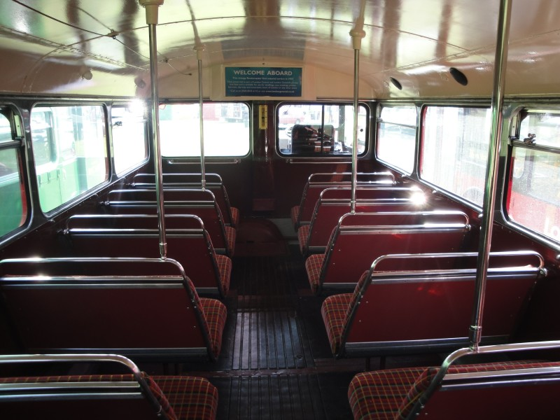 London Central RM9 VLT 9 interior