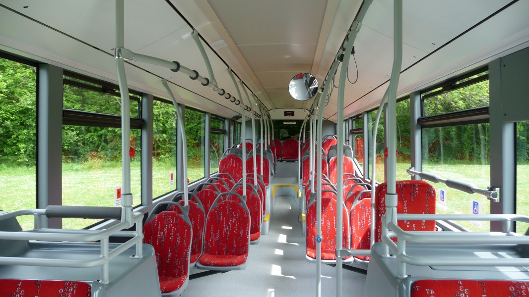 Mercedes-Benz Citaro demonstrator BN09 FWS interior