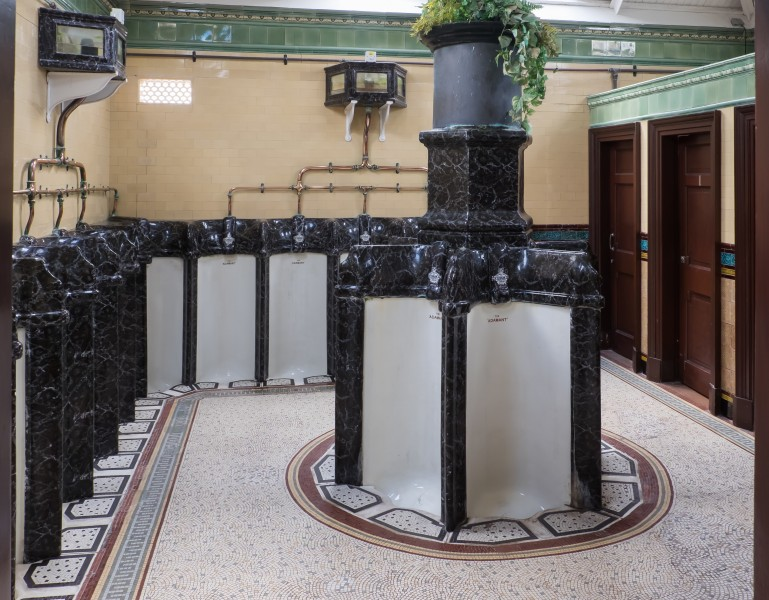 Rothesay Victorian Toilets - men's urinals