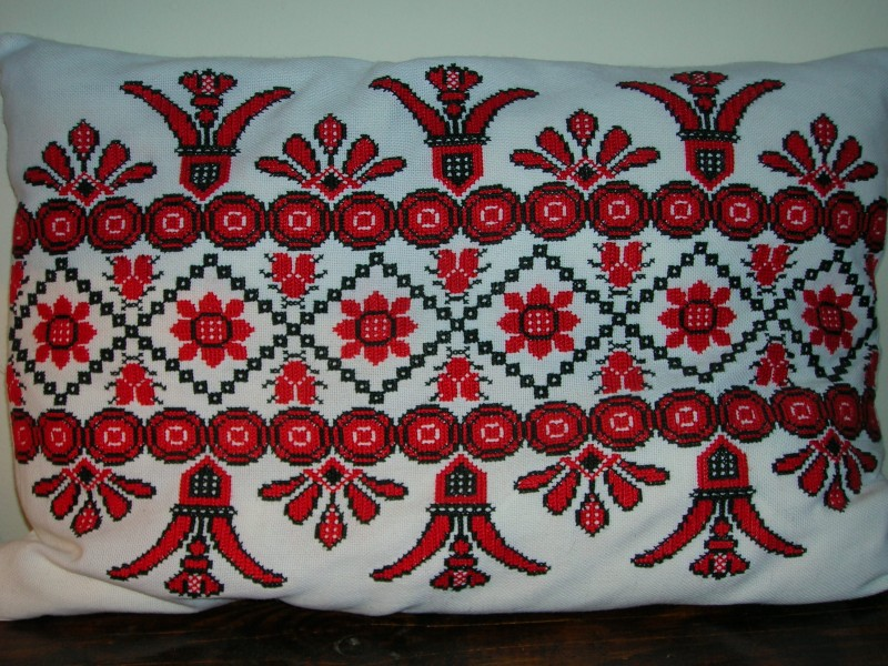 Székely traditional ornamental Pillow