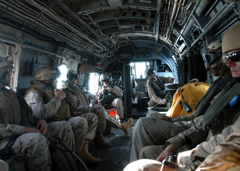 US Navy 050426-N-3557N-385 Marines take part in combined joint task force exercises conducted in Djibouti