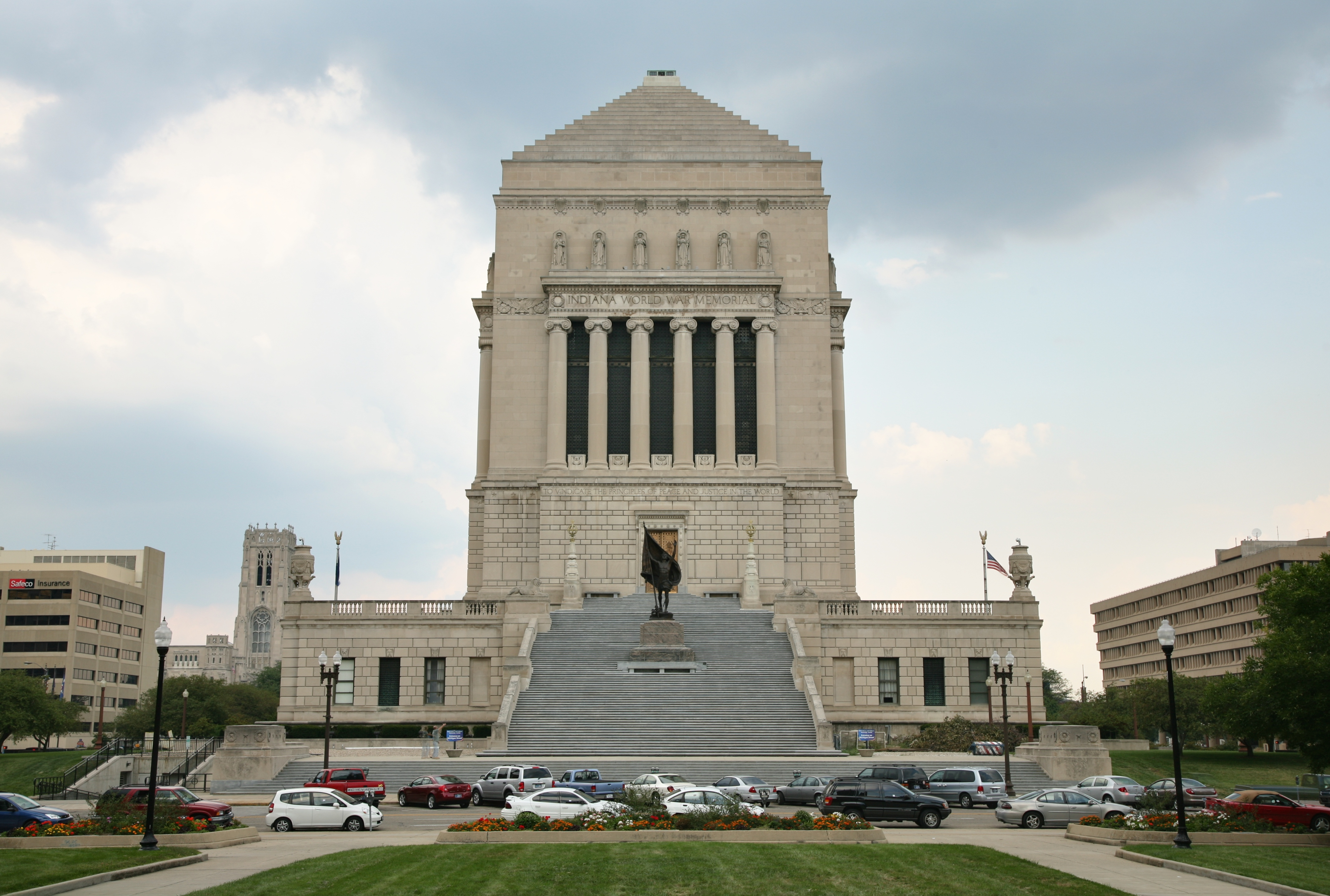 Indiana World War Memorial exterior