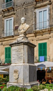 Bust of Pasquale Galluppi - Tropea - Calabria - Italy - July 25th 2013