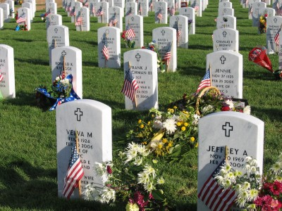 Fort logan national cemetery 4