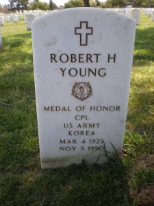 Robert H. Young headstone front
