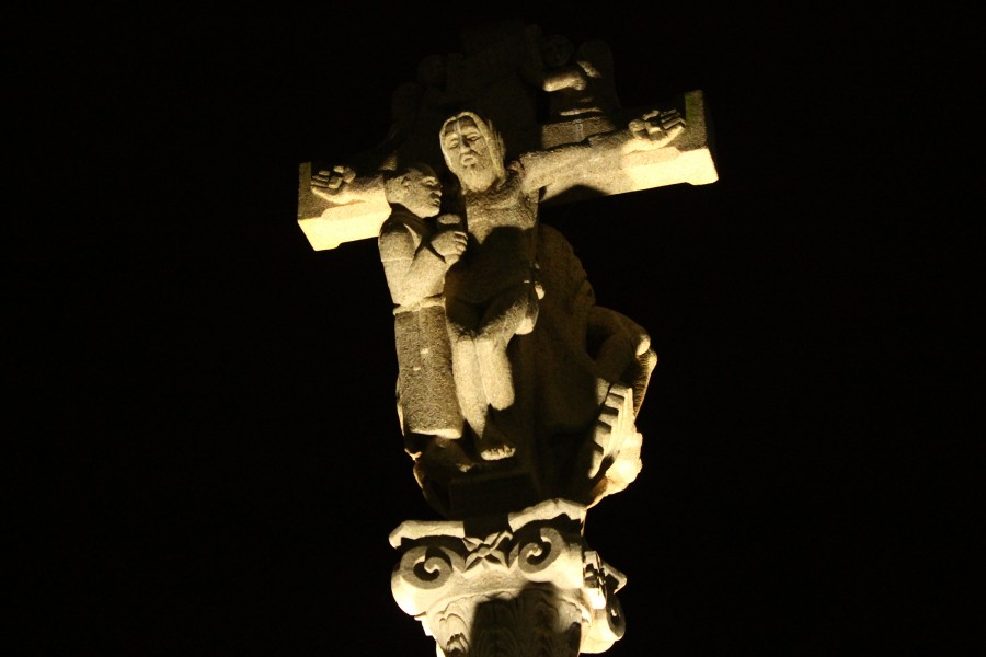 Cross of Columbus, Bayona, Galicia, Spain
