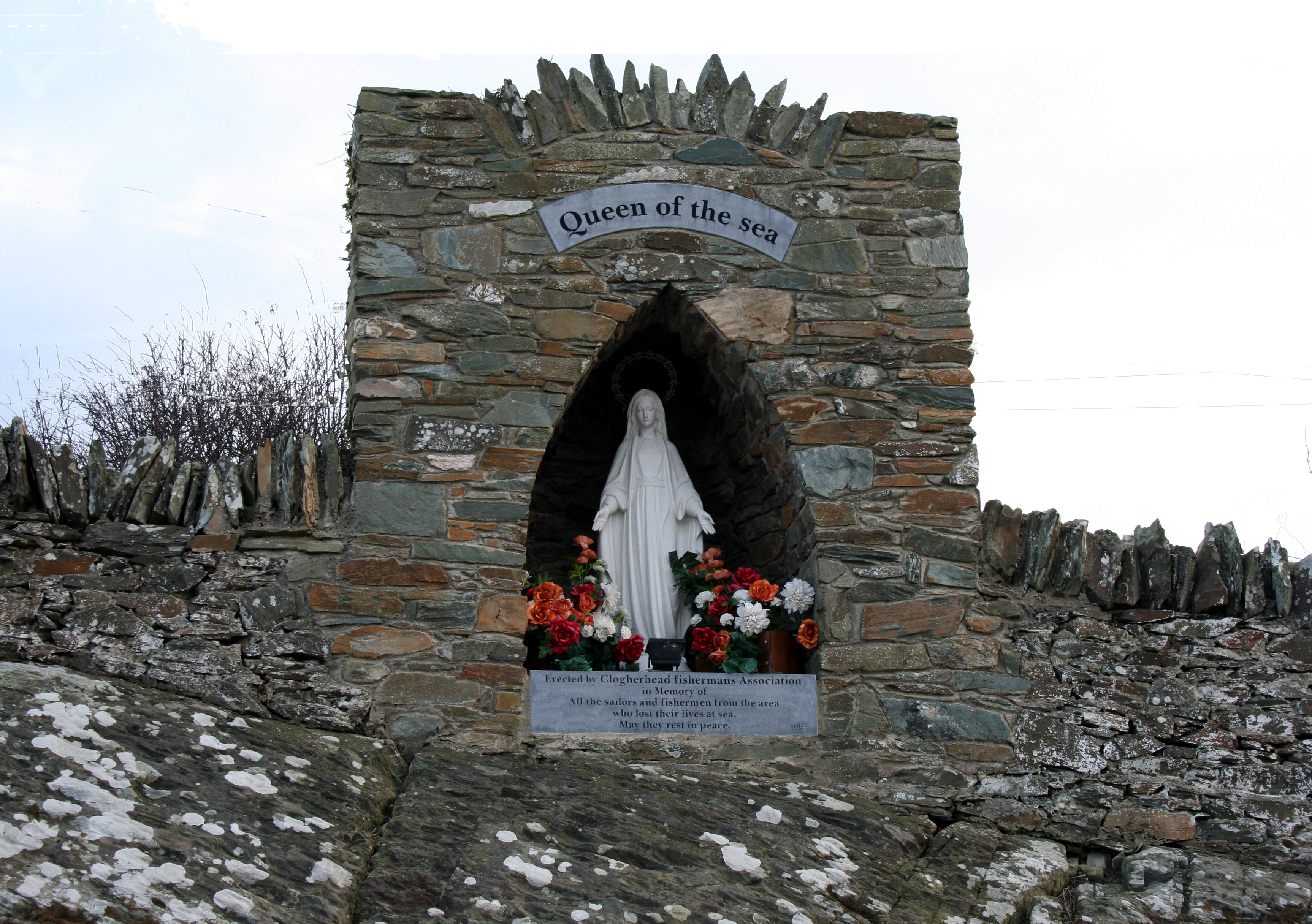 Queen of the sea memorial