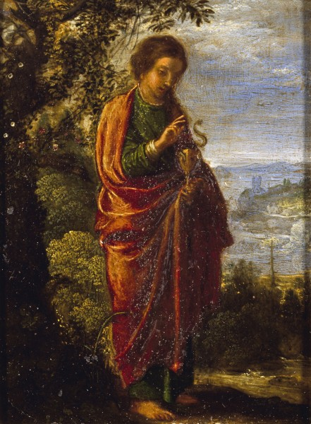 Adam Elsheimer - Saint John the Evangelist