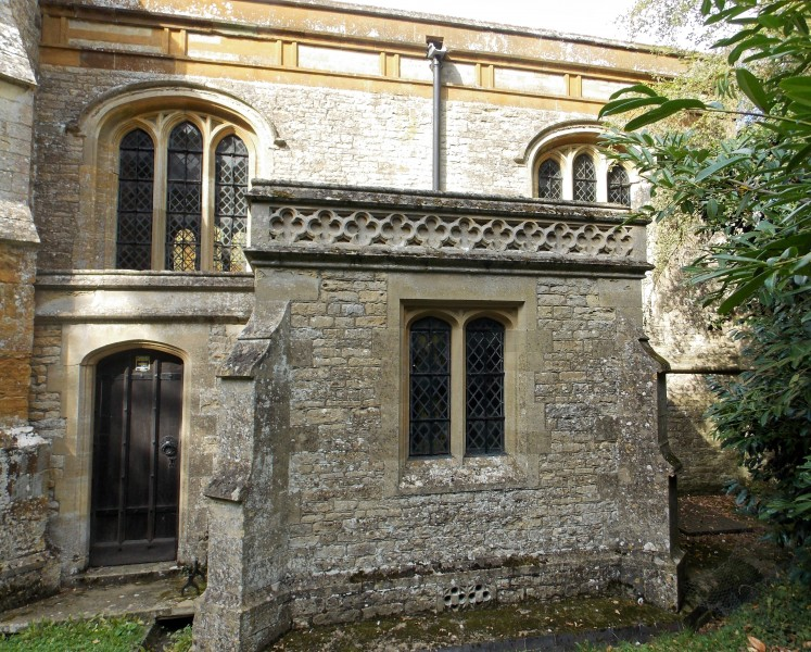 All Saints Church, Middle Claydon, Bucks, England - vestry from south