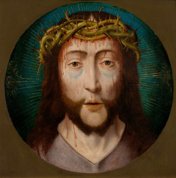 Bouts (follower) Jesus with Crown of Thorns