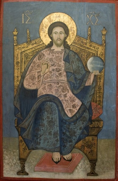 Christ Pantocrator in the