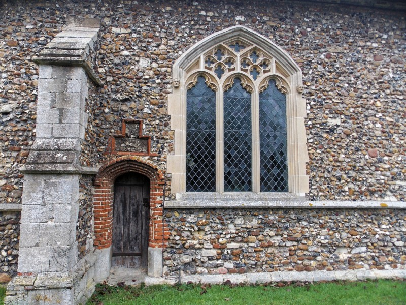 Church of St John, Finchingfield Essex England - South chapel from south