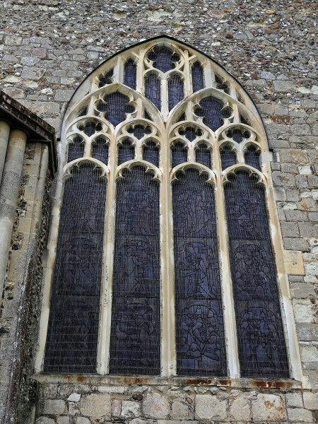 Church of St Mary Hatfield Broad Oak Essex England - chancel east window