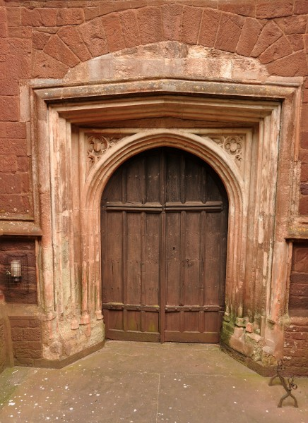 Door in St Mary's, Totnes